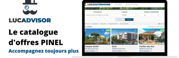 """Le catalogue d'offres PINEL : l'extrait du Webinaire """"Défiscalisation"""""""